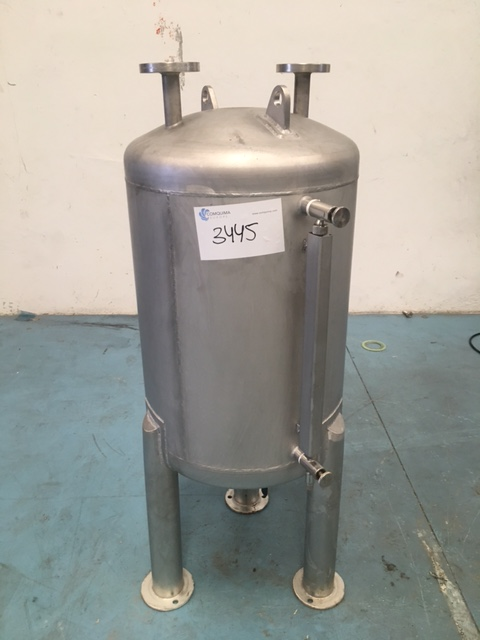 USED 100 LITRES STAINLESS STEEL 304 TANK