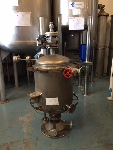 USED STAINLESS STEEL 316 100 LITRES TANK