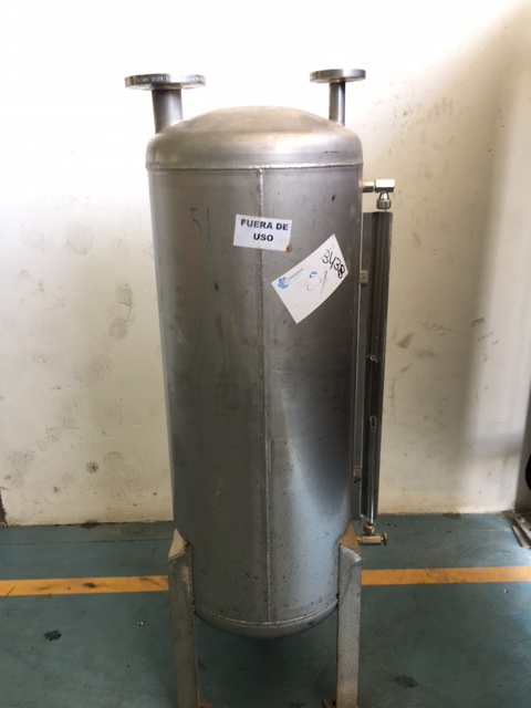 USED 150 LITRES STAINLESS STEEL TANK