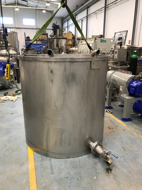 USED 2000 L STAINLESS STEEL 304 TANK