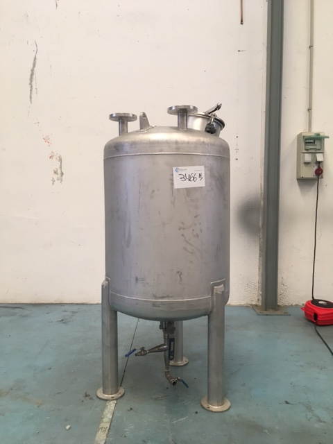 USED 300 LITRES STAINLESS STEEL 304 TANK