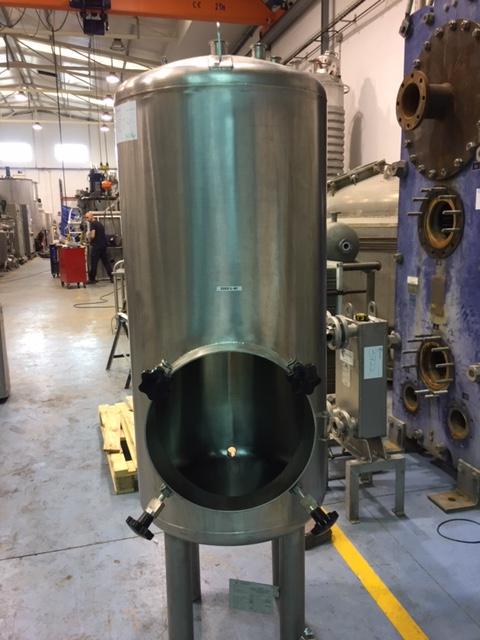 USED 500 LITRES STAINLESS STEEL TANK