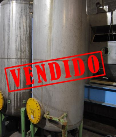 DEPOSITOS ACERO INOXIDABLE 304 4.500L DE SEGUNDA MANO