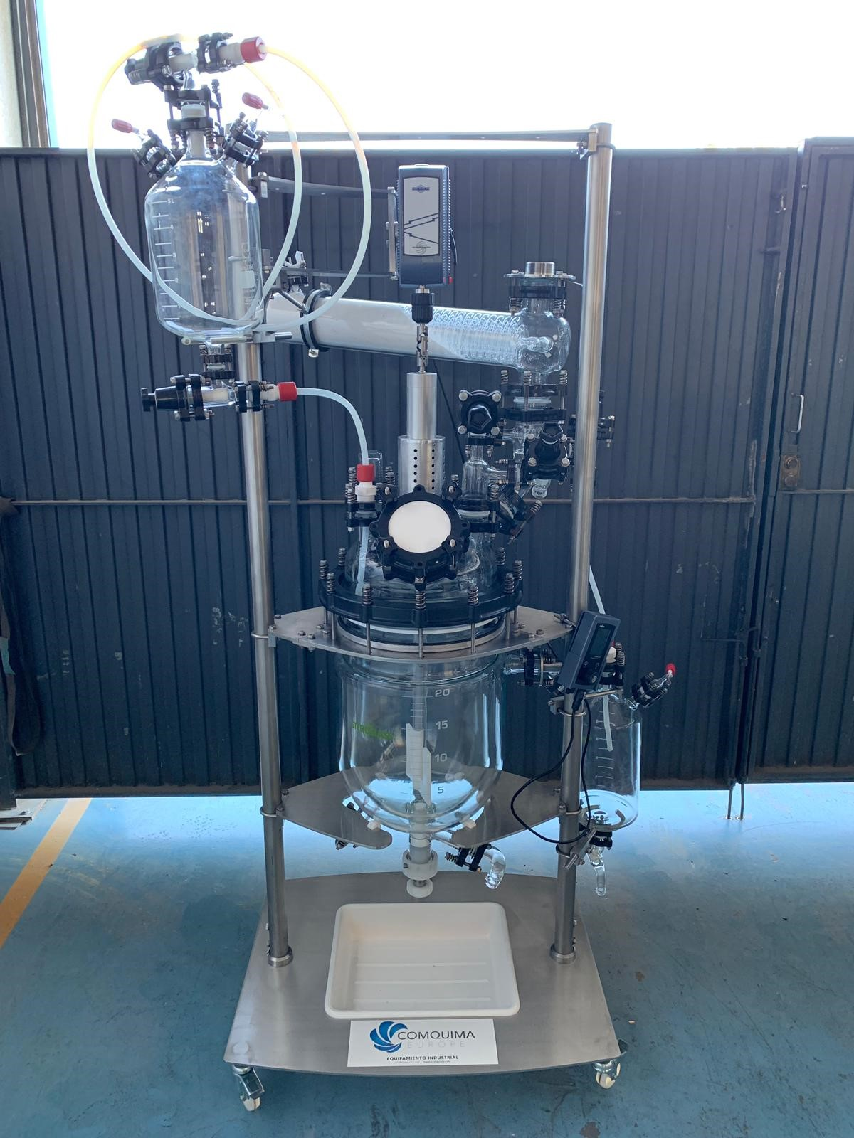 UNUSED 20 LITRES KILOLAB REACTOR WITH GUARANTEE