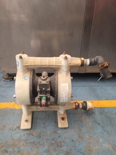 Diaphragm pumps - Comquima Europe, Second hand equipment