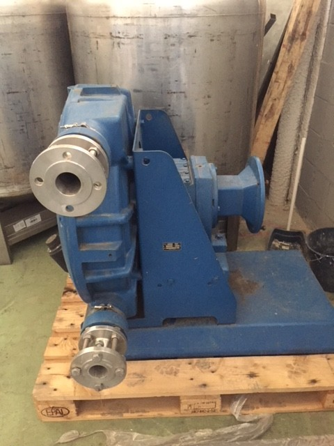 USED DELASCO DL 55PA4S PERISTALTIC PUMP