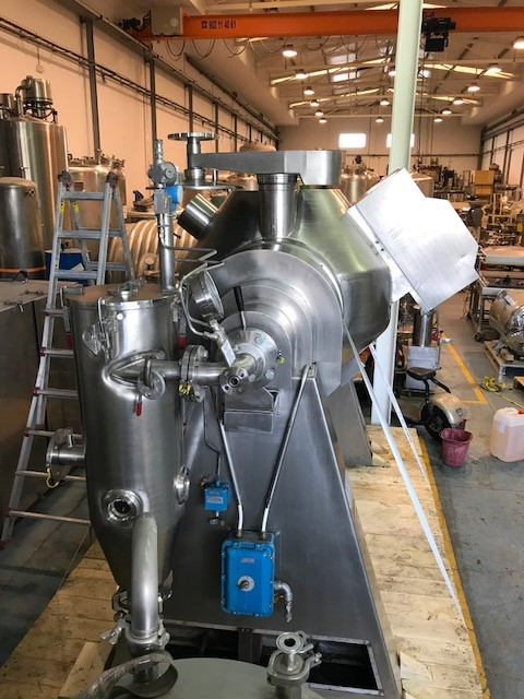 USED ITALVACUUM CRIOX-RGB-600 BICONE DRYER