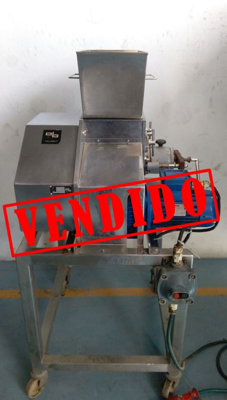 USED STAINLESS STEEL GRANULATOR OLIVER Y BATLLE
