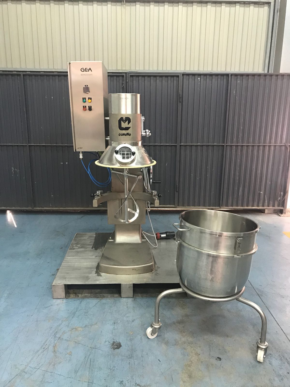 USED GEA COLLETTE MP90 MIXER - Comquima Europe, Second hand equipment