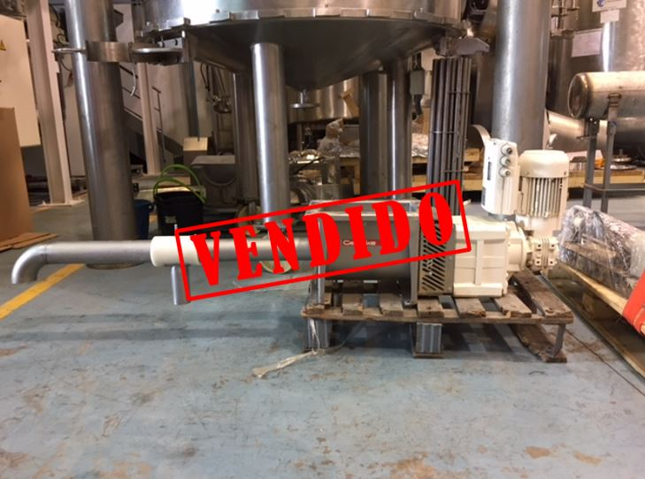 USED GERICKE ENDLESS SCREW MIXER