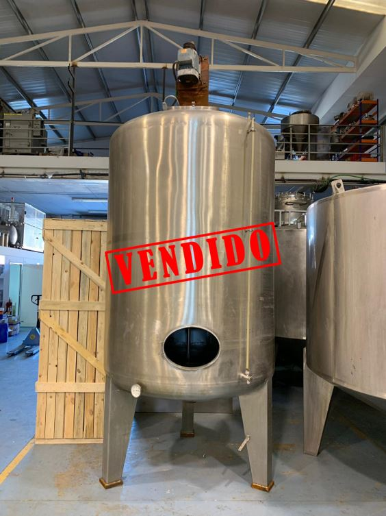 USED STAINLESS STEEL 316 4.000 LITRES TANK