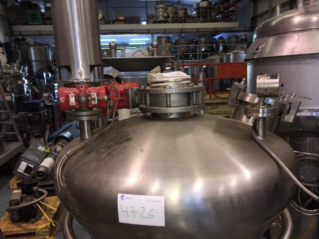 USED BACHILLER STAINLESS STEEL DOSING VIBRATING PNEUMATIC POWDER TRANSFER SYSTEM